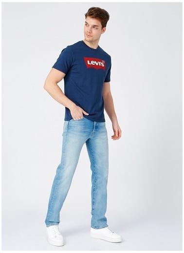 Levi's® Levis Erkek Lacivert Bisiklet Yaka T-Shirt Lacivert